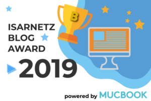 Publikumspreis des Isarnetz  Blog Awards powered by Mucbook – jetzt abstimmen!
